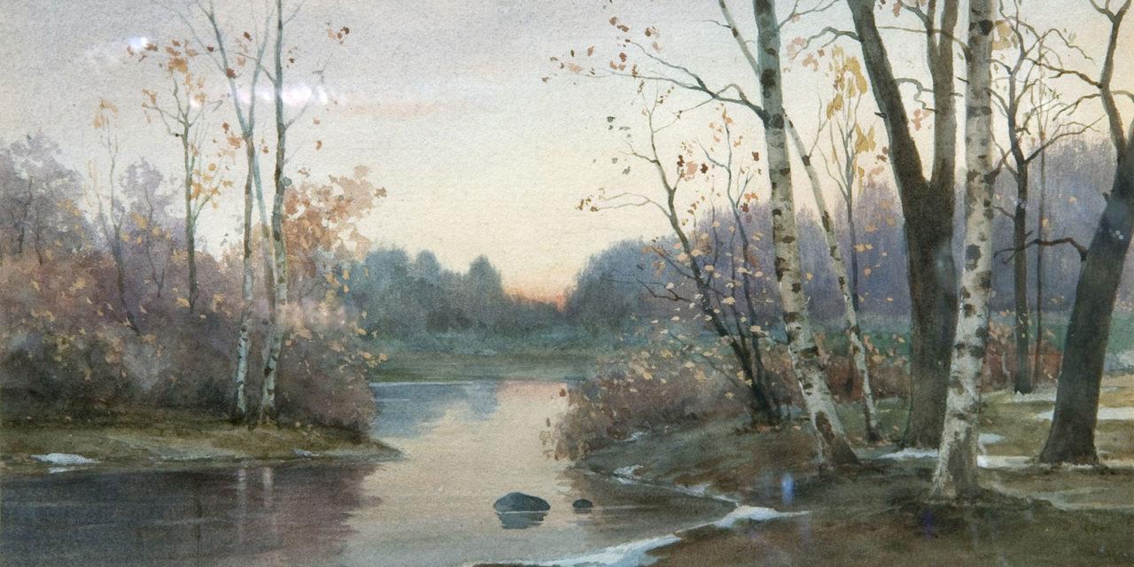 Берггольц Ричард Александрович, 1865 - 1920. Осень