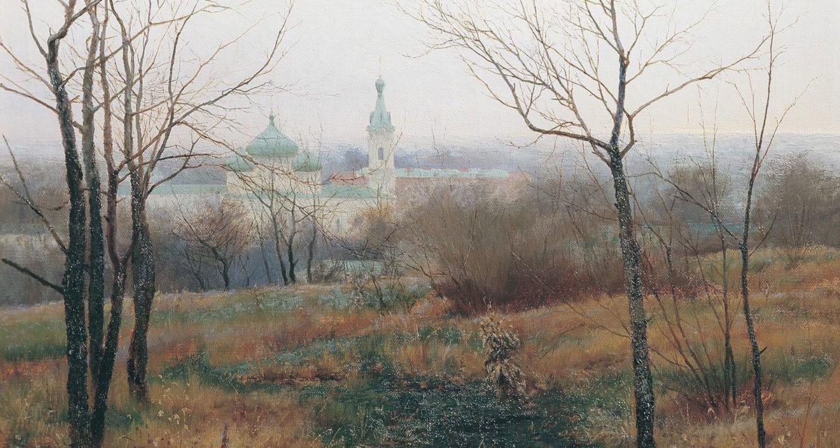 Осень на исходе. 1887г. Константин Константинович Первухин