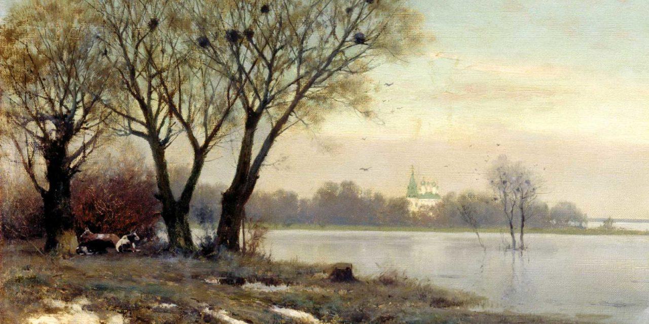 Крыжицкий Константин Яковлевич. Ранняя весна.