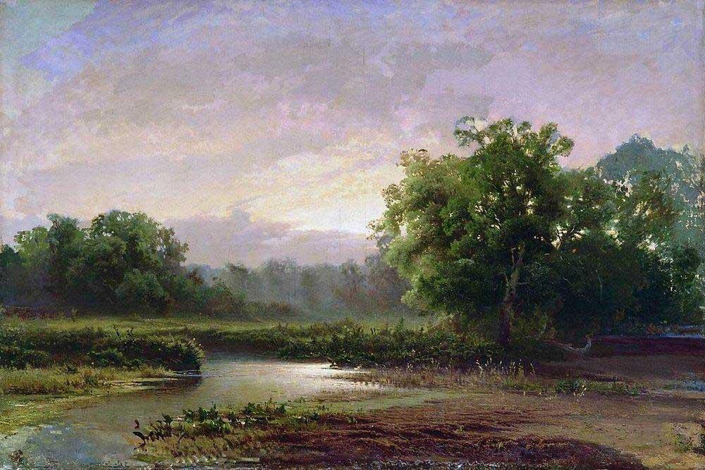 Фёдор Васильев. Рассвет. 1873