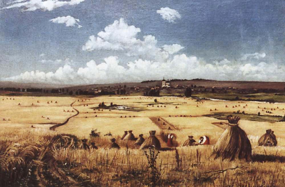 Шишкин Иван Иванович (1832-1898) Жатва
