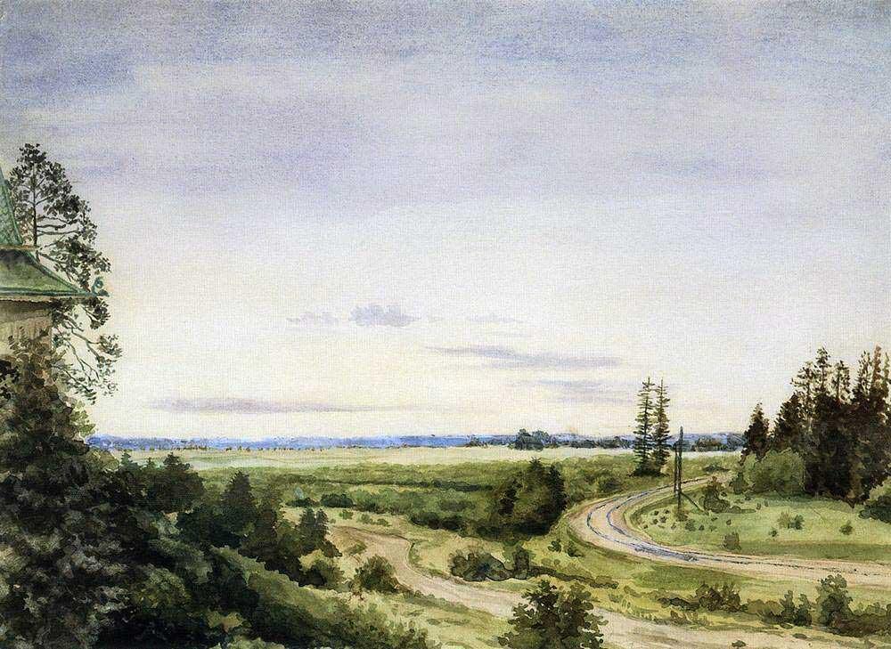 Сомов Константин Андреевич (1869-1939) Август. 1885