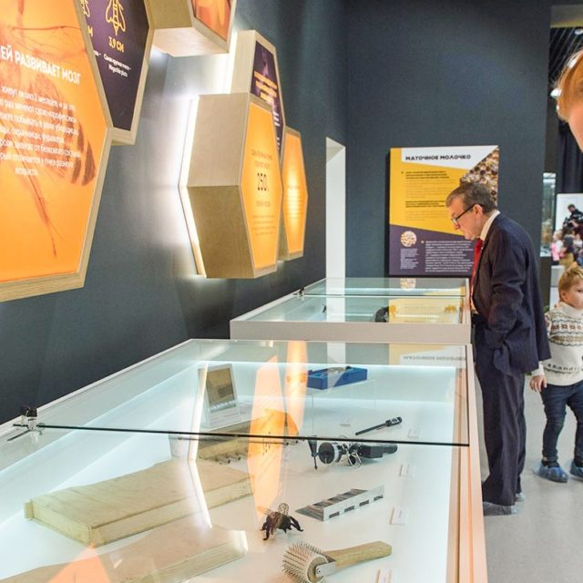 Выставка—энциклопедия в экоцентре «Пчеловодство» на ВДНХ
