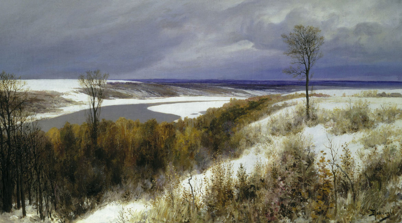 Поленов В.Д. Ранний снег. 1891