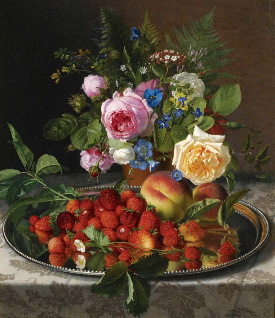 Дары природы. Отто Дидрик Оттесен (1816-1892)