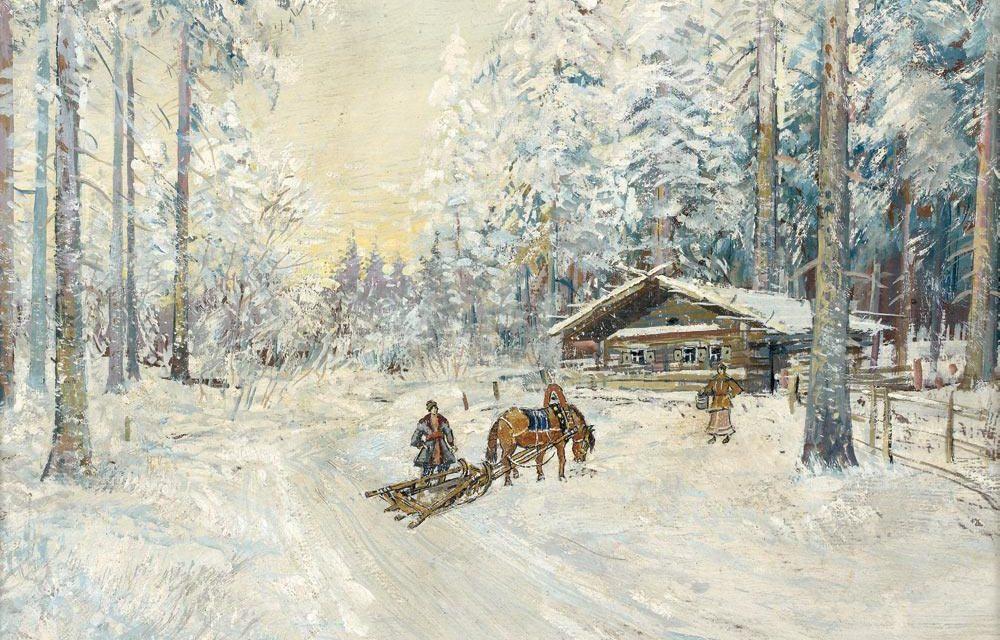 Коровин К.А. Зима. Лес. 1930-е