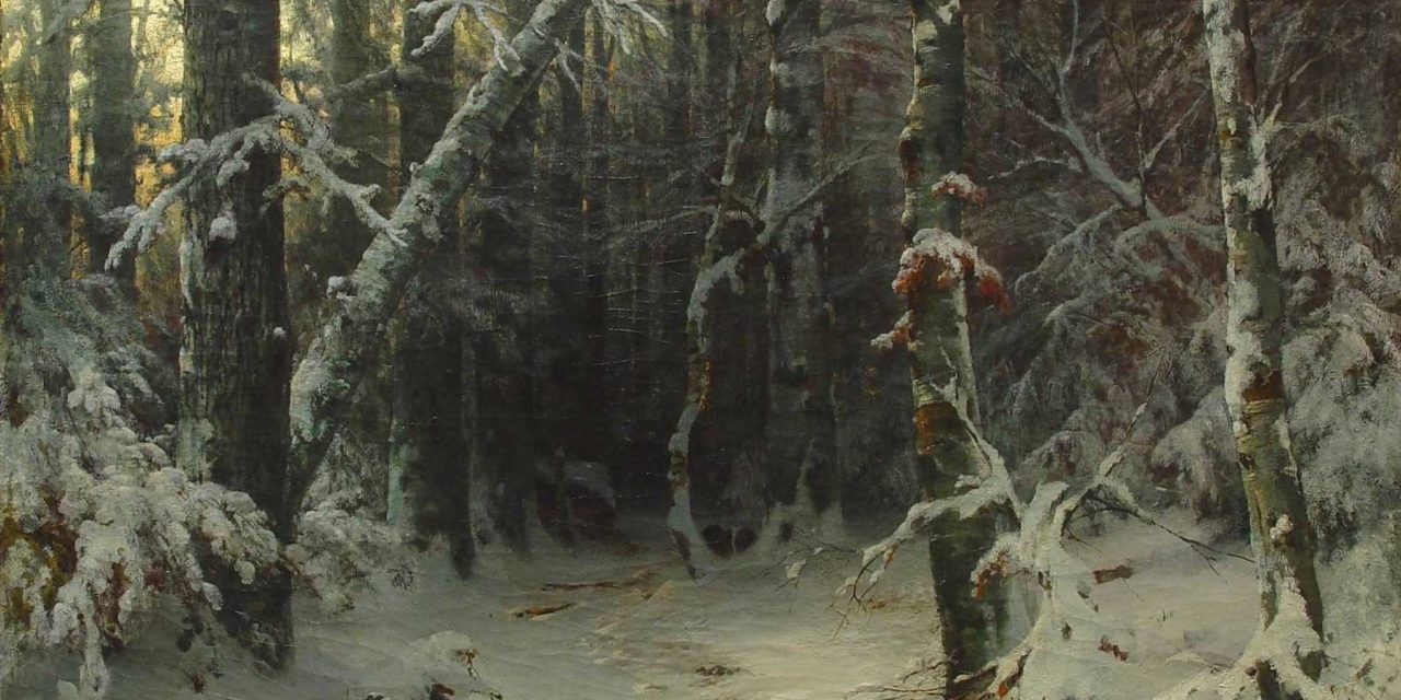 Иван Иванович Шишкин. «Зимний лес».