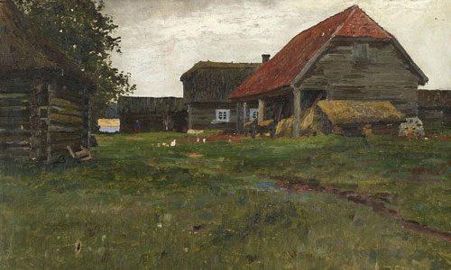 Горбатов К.И. (1876 - 1945), Деревенские постройки. 1903